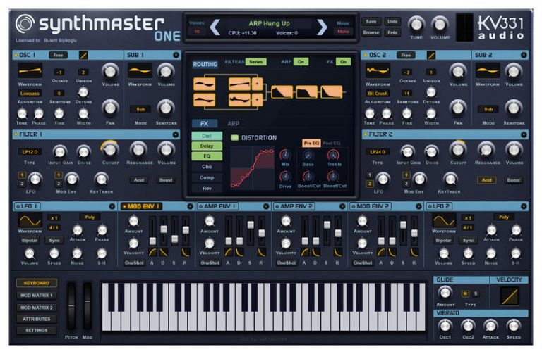 kv331 SynthMaster One (Win) With Crack Free Latest Download